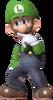 0.5.Luigi scratching his nose