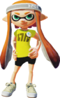 Female Inkling - Splatoon