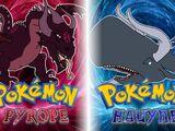 Pokémon Pyrope and Hauyne Versions