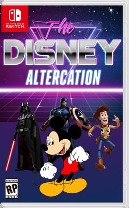 The Disney Altercation boxart