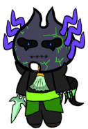 Judge (Shape-Shifter) Chibi Plush Thing