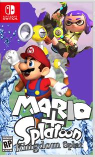 Mario Splatoon Kingdom Splat Box-art