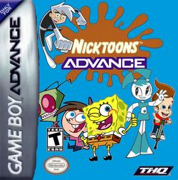 Nicktoons Advance NTSC box art
