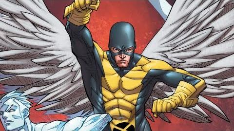 Superhero Origins Angel