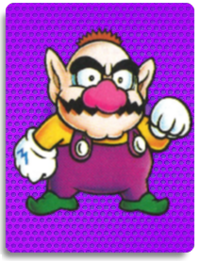 PowerCardWario LittleWario