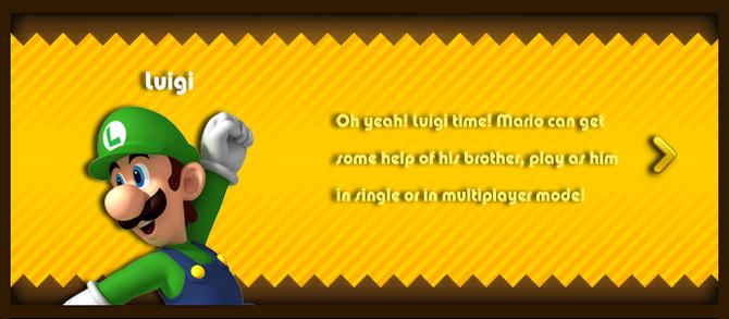 Super Mario & the Ludu Tree - Character Luigi