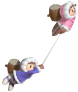 1.10.Ice Climbers Using Belay