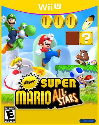 Newer Super Mario All Stars Fantendo Nintendo Fanon Wiki Fandom
