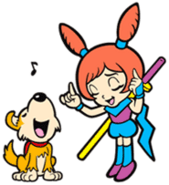 Ana and Shadow WarioWare Mega Microgames