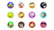 Bowser Junior's Party Action Playable Characters