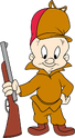 Elmer Fudd transparent