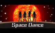 Space Dance title 3DS