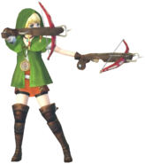 1.4.Linkle posing with her Bows
