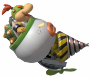 4.5. Bowser Jr's Clown Car drilling