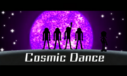 Cosmo Dance 3DS title