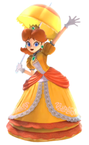 Daisy from Super Smash Bros Ultimate