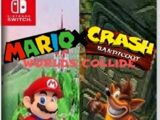Mario X Crash Bandicoot: Worlds Collide