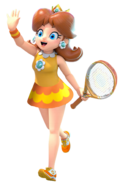 Princess Daisy Tennis Aces Skirted version