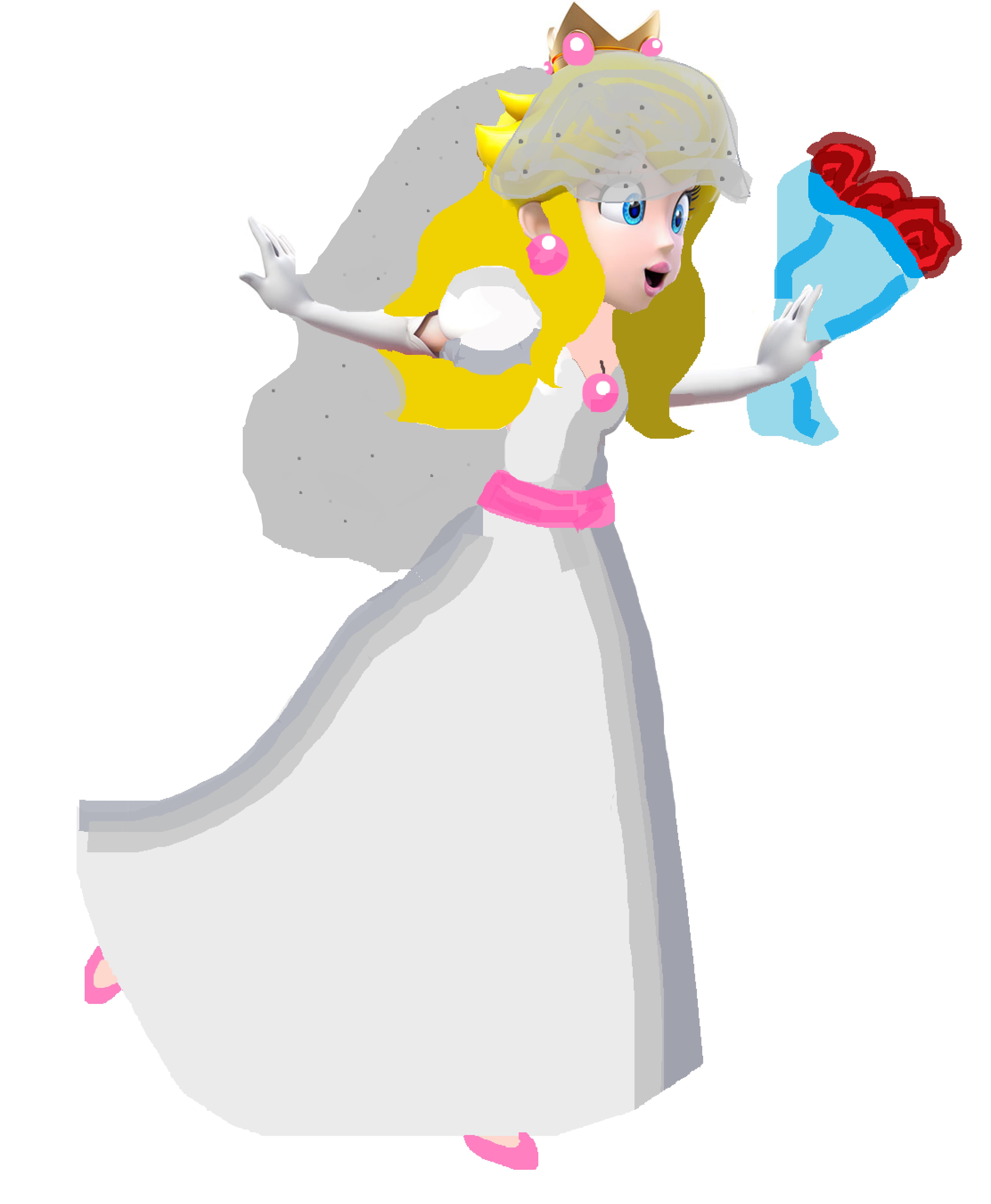 Image - Princess Peach wedding dress.png | Fantendo - Nintendo Fanon ...