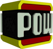 Red POW Block Model - Smash Bros 4 Wii U