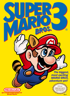 Super Mario Bros. 3 coverart