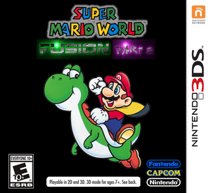 Super Mario World Fusion- Part 2- Front Cover