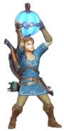 1.1.Champion Link Holding a Remote Bomb