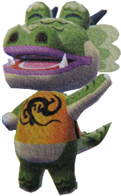 Drago-Animal Crossing