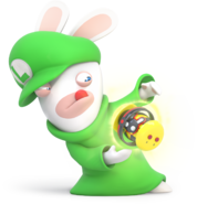 Rabbid Luigi - RabbidsKingdomBattle