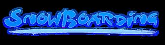 Tigzon Snowboarding minigame logo