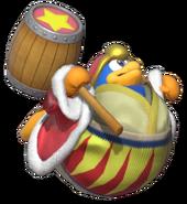 1.10.King Dedede floating