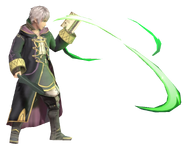 1.8.Male Robin creating Wind Blades