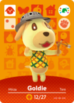 Ac amiibo card special goldie