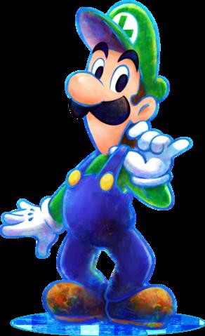 Luigi - Mario & Luigi Dream Team