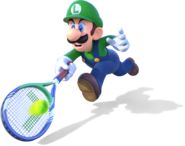 Luigi - Mario Tennis Ultra Smash