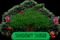 Shadowy Shrub