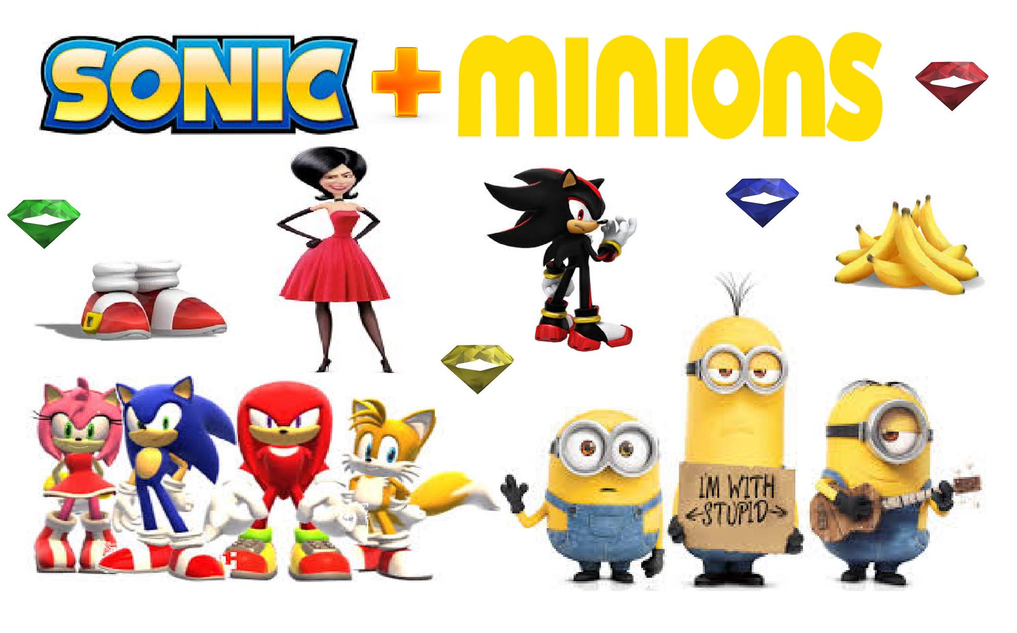 Sonic + Minions: Green Hill Stand | Fantendo - Nintendo