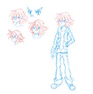 Tigzon Tai Z. character design