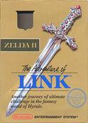 Zelda II The Adventure of Link cover