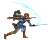 1.3.Champion Link swinging his sword