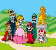 BS SM USA -- Mario & Friends