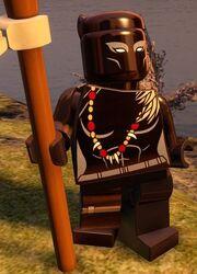 Black Panther (Shuri) (Lego Batman 4)