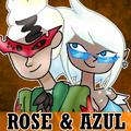 ColdBlood Icon Rose & Azul