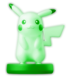 GlowAmiibo Pikachu
