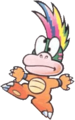 Lemmy Koopa (without scepter and ball)- Super Mario Bros. 3