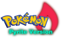 Pokemon Pyrite Version Logo