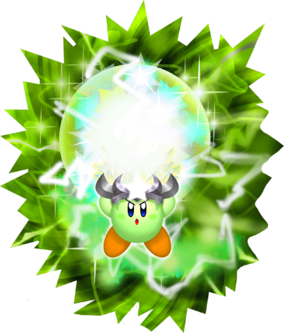 File:Sparkling Spark Kirby KDL3D.png