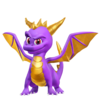 Spyro the dragon render by nibroc rock-d94dgvv