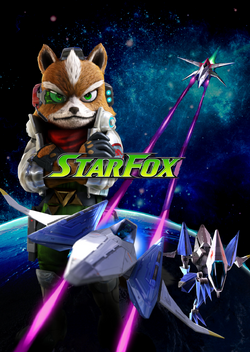 Star Fox Poster without credits
