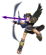 0.7.Dark Pit aiming an Arrow